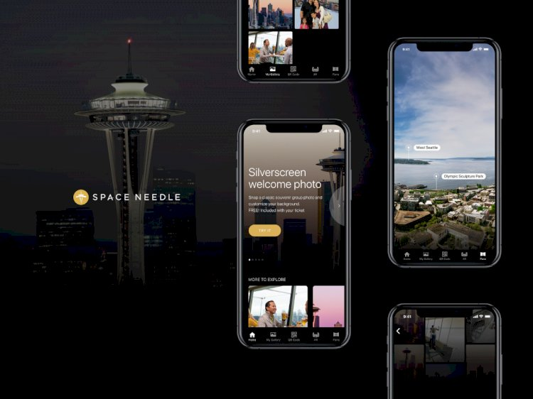 Space Needle Mobile App — UI/UX Case Study