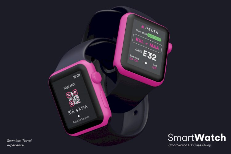 Seamless travel experience with a smartwatch—A UI/UX Case Study