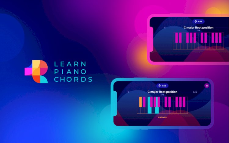 UX/UI Case Study: Learn Piano Chords