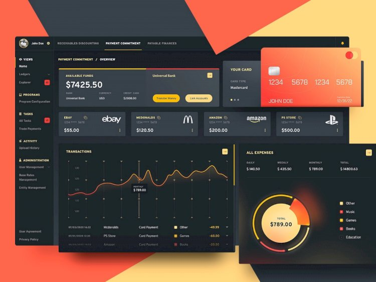 TOP 20 Amazing Dashboard Designs of the Week #5