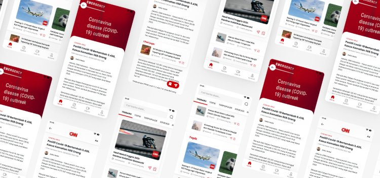 Case Study: CNN Indonesia app redesign to improve readability